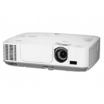 NEC projector M260W LCD, 1280 x 800 WXGA, 2600lm, 2000:1, 2.9kg, HDMI, VGA x2, S-Video, RJ45, bag, L