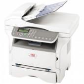 OKI MB280 laser MFP (p/c/s/f, A4, 600x600dpi, 22ppm, 32Mb, 2trays 1+250, ADF 50, USB)