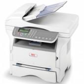 OKI MB290 laser MFP (p/c/s/f, A4, 600x600dpi, 22ppm, 64Mb, 2trays 1+250, ADF 50, USB/LAN, PS3)