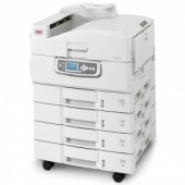 OKI C9850 laser (LED) color MFP (p/c/s/f, A3, 1200x1200dpi, 36(40)ppm, 1024Mb, 40Gb HDD, 5trays 230+