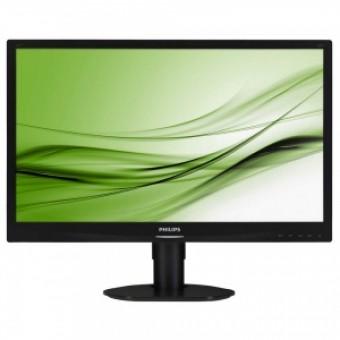 "24"" Philips 241S4LCB/00 Black TN LED 5ms 16:9 DVI M/M"