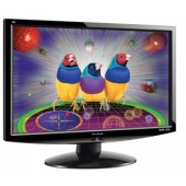 "22"" ViewSonic VA2232w, 1680x1050, 5ms, 300cd/m2, 1000:1(100000DCR), 170°/160°, Dual, TCO'03, Black/S"