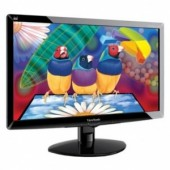 "Viewsonic 20"" VA2038WM-LED, LED, 1600x900, 250 cd/m2, 10M:1, 170/160, 5ms, D-sub, DVI, Black"