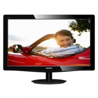 "20"" Philips 206V3LSB/01 Glossy-Black TN LED 5ms 16:9 DVI 10M:1 250cd"
