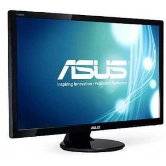 "ASUS 27"" VE276N, 16:9, 1920x1080, 16,7mln, 300 cd/m2, 100000:1, 170°/160°, D-Sub, DVI-D, Black"