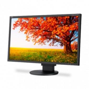 "NEC 21.5""monitor,Black; 16:9; e-IPS; LED backlight; 1920x1080; 0,247mm;14 ms; 250cd/m2; 1000:1; 178/"