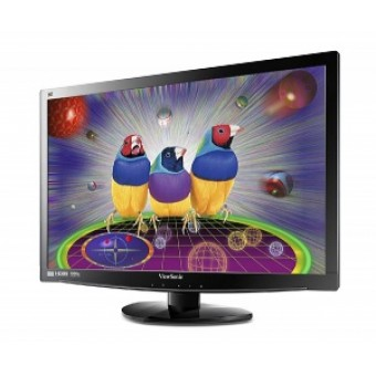 "23"" ViewSonic V3D231-LED, 3D (2*glasses incl.)1920x1080, 2ms, 250cd/m2, 1000:1(20M:1DCR), 170°/160°,"