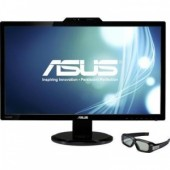 "ASUS 27"" VG278H 3D LED, 16:9, 1920x1080, 2ms, 170°/160°, 50M:1, 300 cd/m2, D-Sub, DVI, HDMI, колонки"