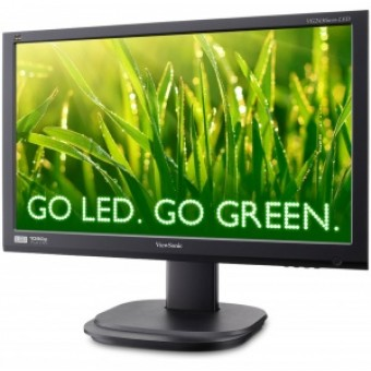 "23,6"" ViewSonic VG2436WM-LED, HAS&Swivel&Pivot, 1920x1080, 5ms, 300cd/m2, 1000:1(20M:1DCR), 170°/160"