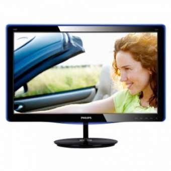 "19"" Philips 190E3LSU/01 Glossy-Black TN LED 5ms 16:10 DVI 20M:1 250cd"