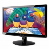 "ViewSonic 21.5"" VA2238W-LED, 1920x1080, 5ms, 250cd/m2, 1000:1(10M:1DCR), 170°/160°, D-sub&DVI, Gloss"