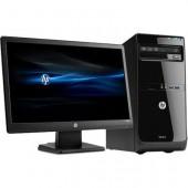 Комплект компьютер и монитор HP
