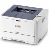OKI B411DN laser (LED) printer (A4, 2400x600dpi, 33ppm, 64Mb, 2trays 1+250, Duplex, Parallel/USB/LAN