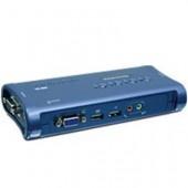 KVM-оборудование TRENDnet TK-409K 4-портовый USB-переключатель
