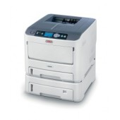 OKI C610dn color laser (LED) printer (A4, 1200x600dpi, 34(36)ppm, 256Mb, 2trays 100+300, Duplex, USB