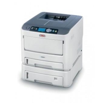OKI C610dn color laser (LED) printer (A4, 1200x600dpi, 34(36)ppm, 256Mb, 2trays 100+300, Duplex, USB