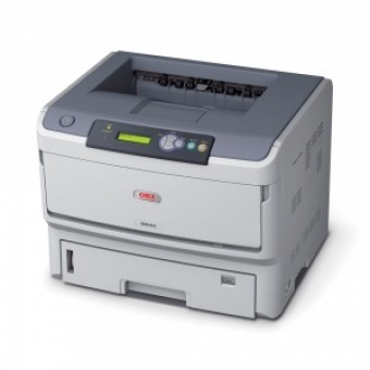 OKI B840DN laser (LED) printer (A3, 40ppm(A4), 22 ppm(A3), Duplex, 2 trays 530+100, 128Mb(max. 640Mb