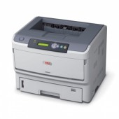 OKI B840N laser (LED) printer (A3, 40ppm(A4), 22 ppm(A3), 2 trays 530+100, 128Mb(max. 640Mb), 1200x1