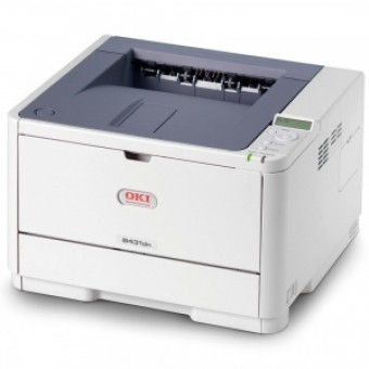OKI B431dn laser (LED) printer (A4, 1200x1200dpi, 38ppm, 64Mb, 2trays 100+250, Duplex, Parallel/USB/