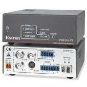 Блок приема FOX Rx AV SM аудио сигнала по одномодовому оптоволоконному кабелю