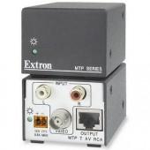 Блок передачи MTP T AV RCA сигналов Composite Video/Аудио по UTP-кабелю