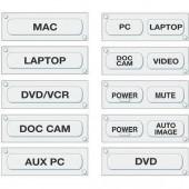 Набор подписанных кнопок для контроллеров MLC 62 (англ.)