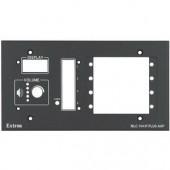Набор MLM 104 4GWP для монтажа контроллеров Medialink в стену, черная лицевая панель