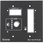 Набор MLM 104 2GWP для монтажа контроллеров Medialink в стену, черная лицевая панель