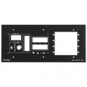 Набор MLM 226 5GWP для монтажа контроллеров Medialink в стену, черная лицевая панель
