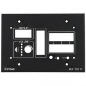 Набор MLM 226 3GWP для монтажа контроллеров Medialink в стену, черная лицевая панель