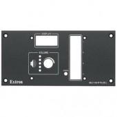 Набор MLM 104 L для врезного монтажа контроллеров Medialink, черная лицевая панель