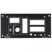 Набор MLM 226 L для врезного монтажа контроллеров Medialink, черная лицевая панель