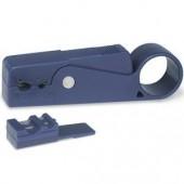 Инструмент для обрезки и зачистки кабелей под компрессионные разъемы