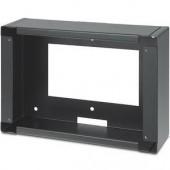 Настенная монтажная коробка EWB 710 для сенсорной панели TLP 710MV, черная