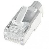 Разъем XTP DTP 24 Plug, RJ-45 male, экранированный, 10 шт.