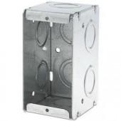 Монтажная коробка JB 125, глубина 63.5 мм, одинарная