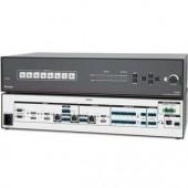 Презентационный коммутатор IN1608 SA, 4 входа HDMI, 2 входа аналового видео, 2 входа DTP, 2 выхода HDMI, 1 выход DTP, HDCP-совместимый, скалирующий, стерео усилитель 2x50