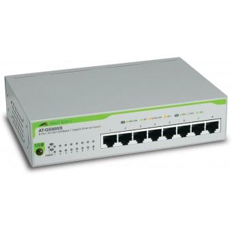 Коммутатор (switch) Allied Telesis AT-GS900/8