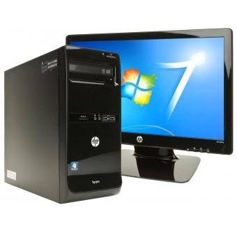 """Настольный компьютер HP 3500 Pro MT Bundle + 20"""" монитор 2011x (B5J43EA)"""