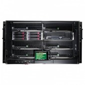 HP BladeSystem cClass c3000 Sin-Phase 6U Enclosure (up to 8 c-class Blades)(incl 4 RPS(up to 6),6 Fa