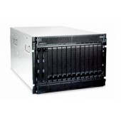 IBM eServer BladeCenter(tm) Chassis, Rack 7U, Max. Bays 14, no SAS (4up), 2x2320W PSU (4up)