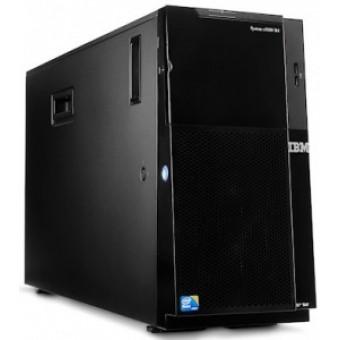 IBM ExpSel x3500 M4 Tower 5U,1xXeon E5-2609 4C(2.4GHz/1066MHz/10MB/80W),1x4GB 1.35V RDIMM,2x300GB 10