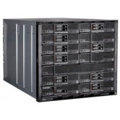 IBM Flex System Enterprise Chassis with 2x2500W PSU (up6), 14 ITEs, 6xFan (up10), Rack (10U)