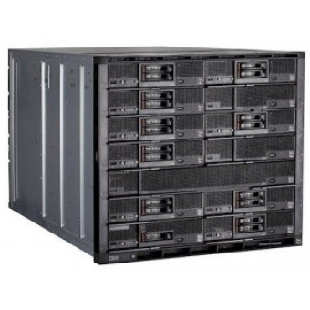IBM Flex System Enterprise Chassis with 2x2500W PSU (up6), 14 ITEs, 6xFan (up10), Rack (10U)